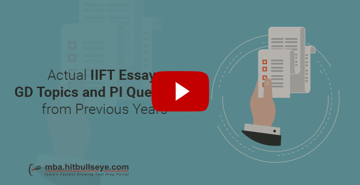 iift executive mba essay writing