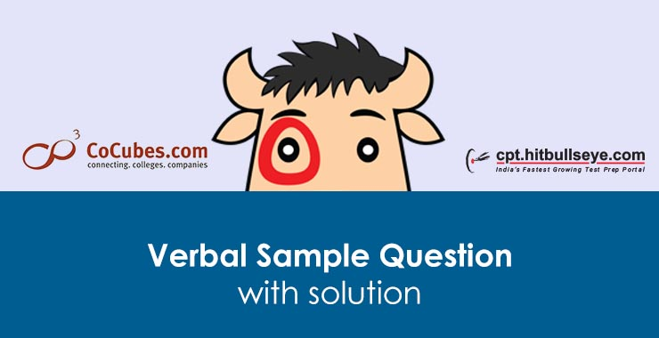 CoCubes Verbal Questions | Verbal Ability Questions For CoCubes