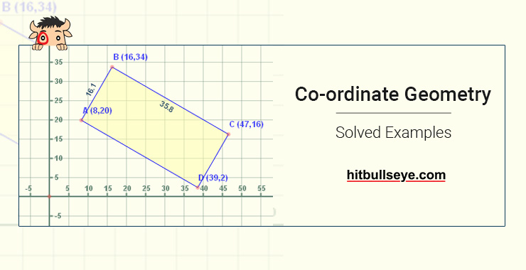 Coordinate Geometry Examples with Solution - Hitbullseye
