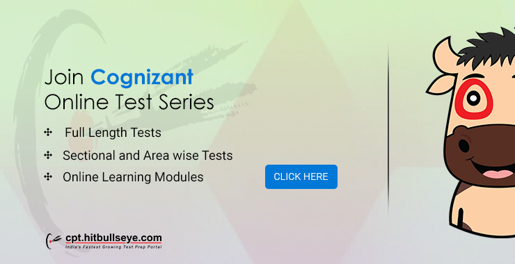 Cognizant Mock Test | Online Practice Test for Cognizant Placement