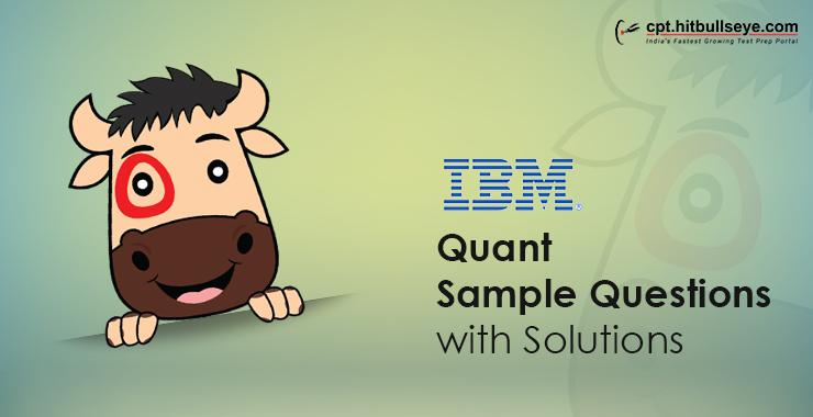 IBM Aptitude Questions Aptitude Test For IBM