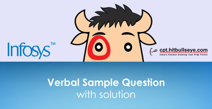 Infosys Verbal Questions | Verbal Ability Questions For Infosys