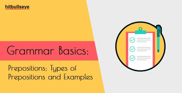 Preposition | Types of Preposition | Preposition Examples