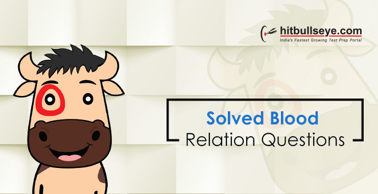974837ed1f23 Blood Relations Problems and Solutions - Hitbullseye