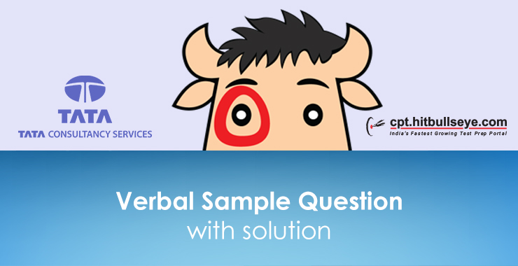 TCS Verbal Questions | Verbal Ability Questions For TCS