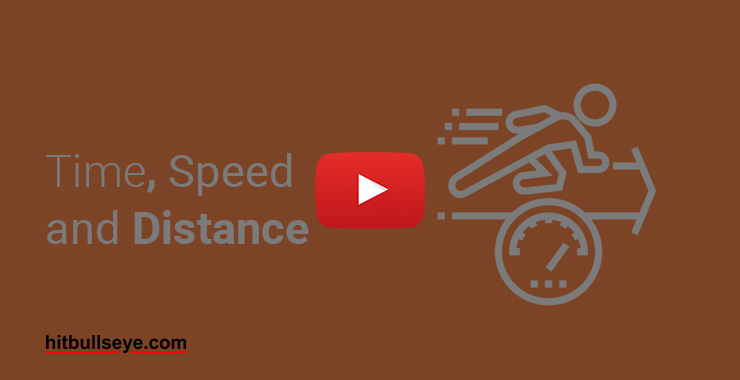 Basic Concepts of Time, Speed and Distance – Hitbullseye