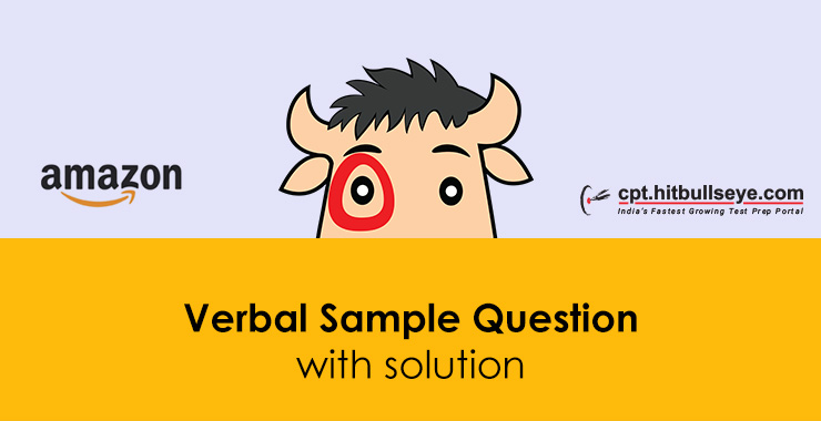 Amazon Verbal Questions | Verbal Ability Questions For Amazon