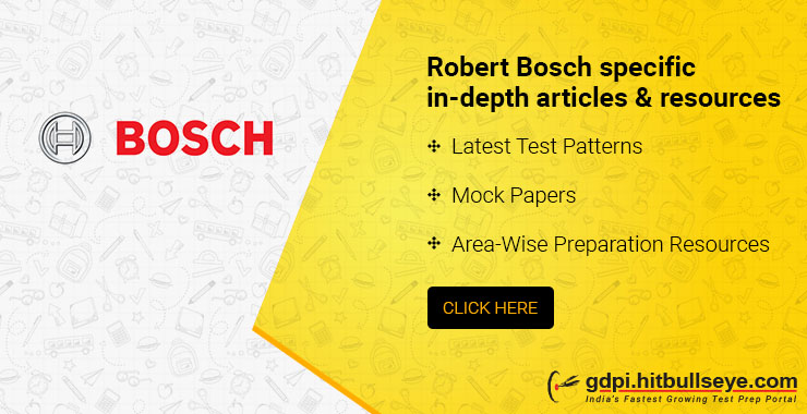 Robert Bosch Interview Questions | Robert Bosch Technical and HR