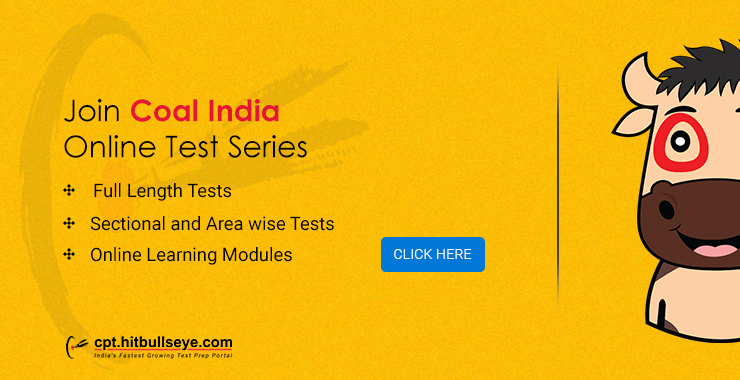 Coal India Mock Test | Online Practice Test for Coal India Placement