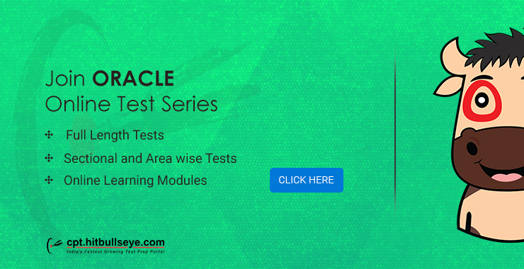 Oracle Mock Test   Online Practice Test for Oracle Placement