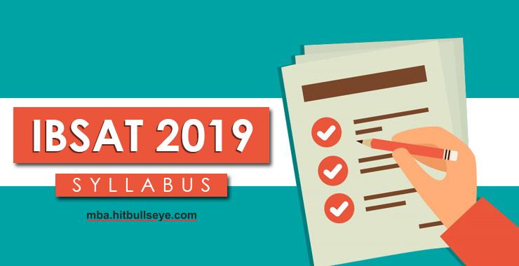 IBSAT Syllabus 2019 - Get IBSAT Exam Latest Syllabus at