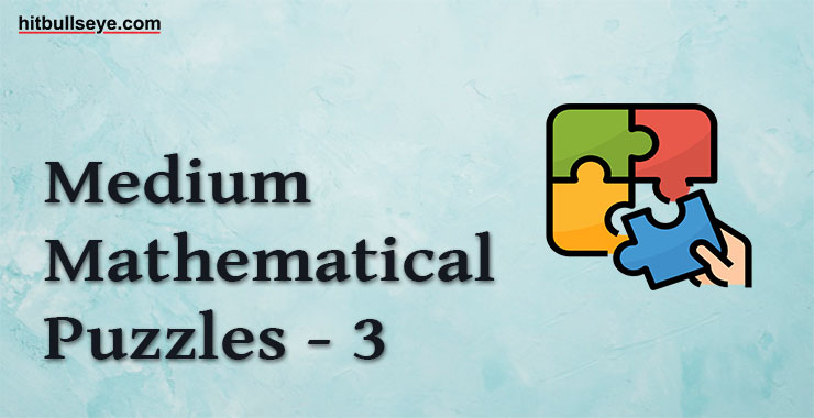 Number Puzzle - Number Puzzles with Answers - Numerical Puzzles