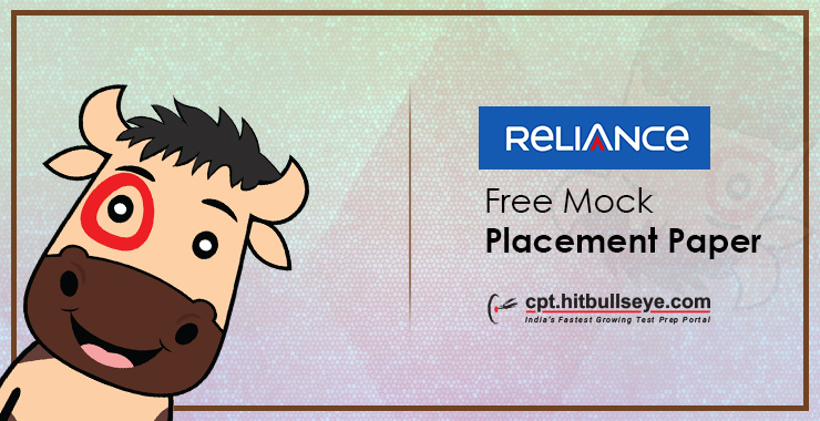 Reliance Placement Papers - Reliance Placement Questions and Answers