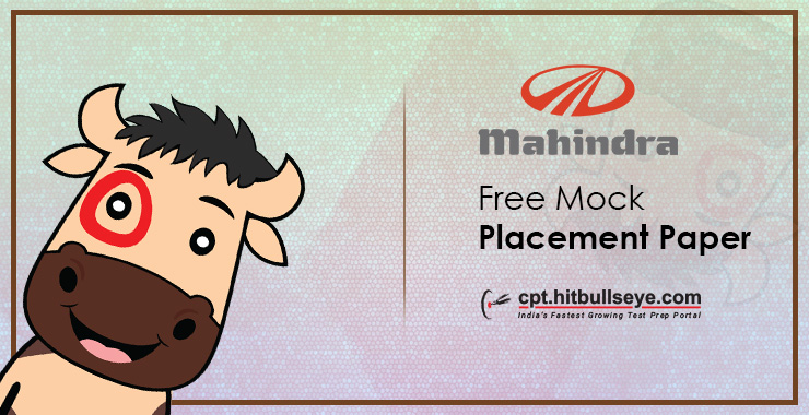 Mahindra Placement Papers - Mahindra Placement Questions and Answers