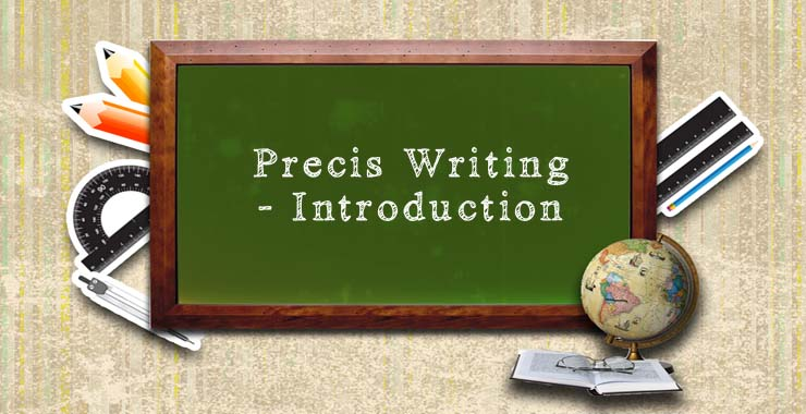 how to write a good precis