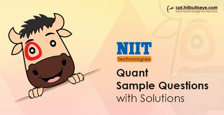 NIIT Technologies Aptitude Questions | Aptitude Test For