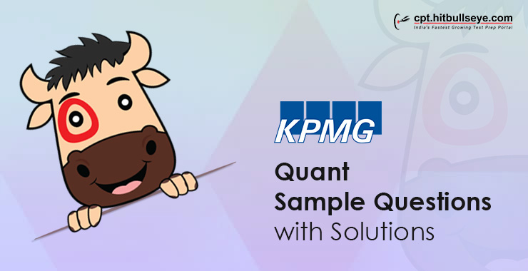 KPMG Aptitude Questions | Aptitude Test For KPMG