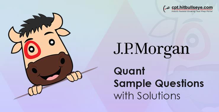 JP Morgan Aptitude Questions | Aptitude Test For JP Morgan