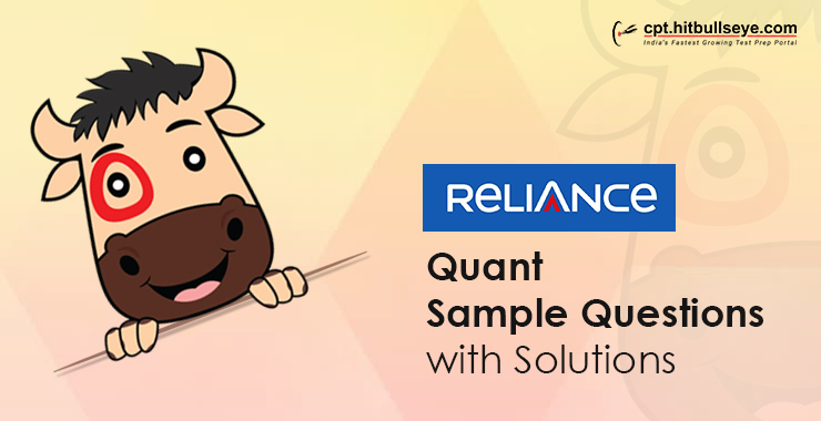 Reliance Aptitude Questions Aptitude Test For Reliance
