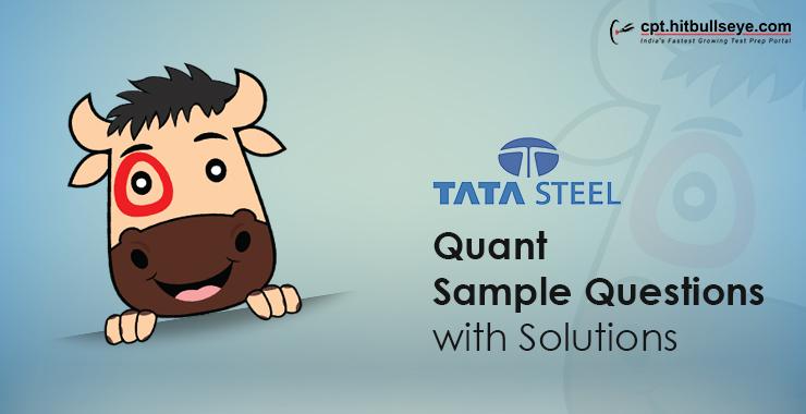 Tata Steel Aptitude Questions | Aptitude Test For Tata-Steel