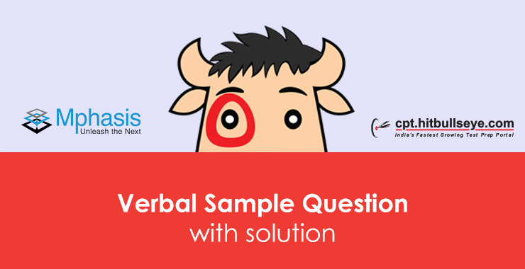 Mphasis Verbal Ability | Mphasis Written Test Pattern