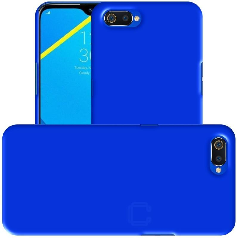 Case Creation Back Cover for Realme C2 (6.10-inch) 2019(Blue, Shock Proof)
