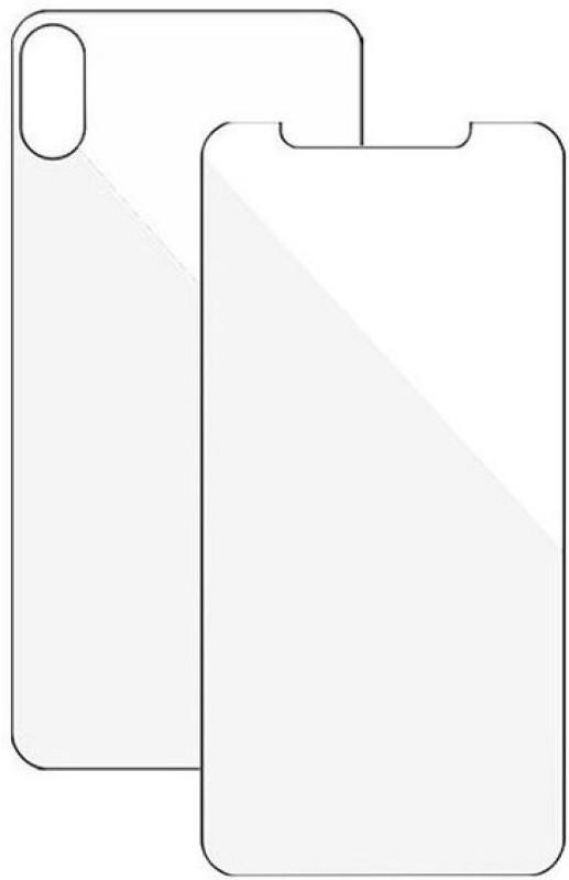 BDMK Front and Back Screen Guard for iSmart Gaint(Pack of 2)