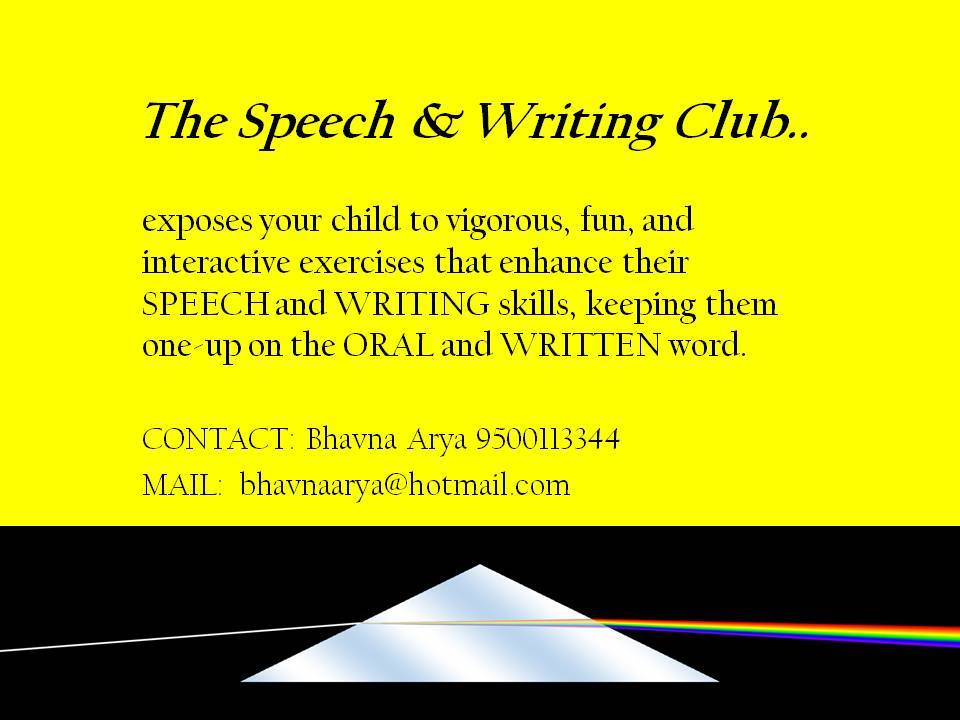 The Speech and Writing Club