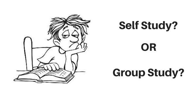 Self study vs Combined studies. which one is more