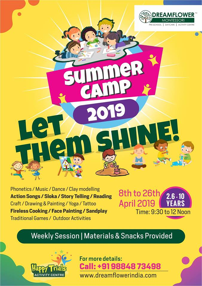 Summer Camp - April 2019 Dreamflower Montessori