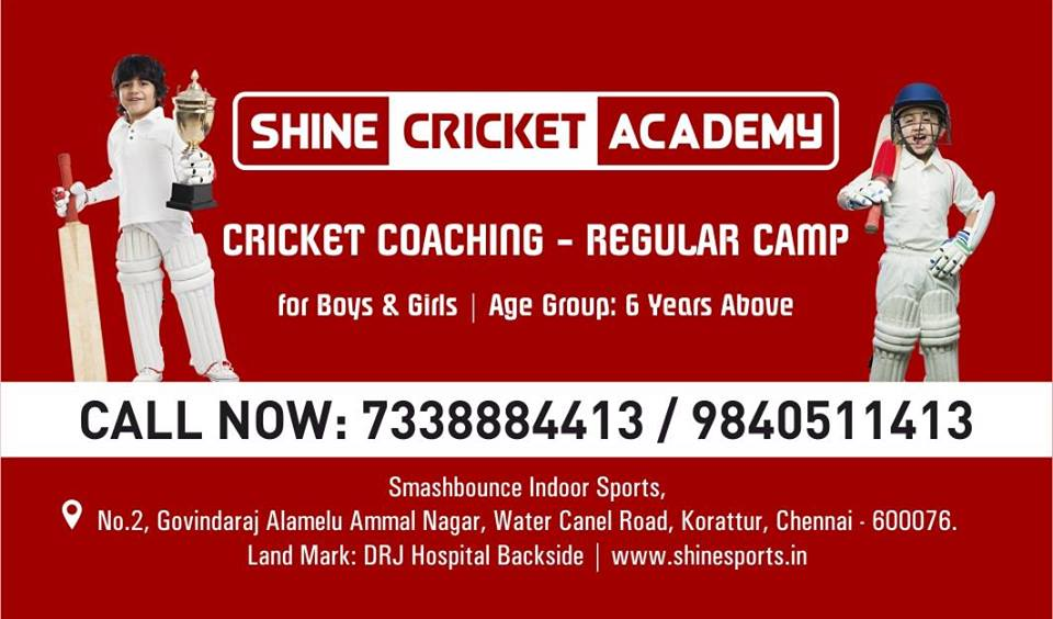 Summer Cricket Camp 2019