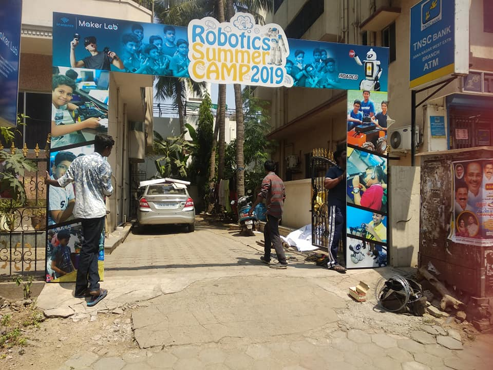 Indias Largest Robotics Summer Camp at Chennai SP Robotics Maker Lab