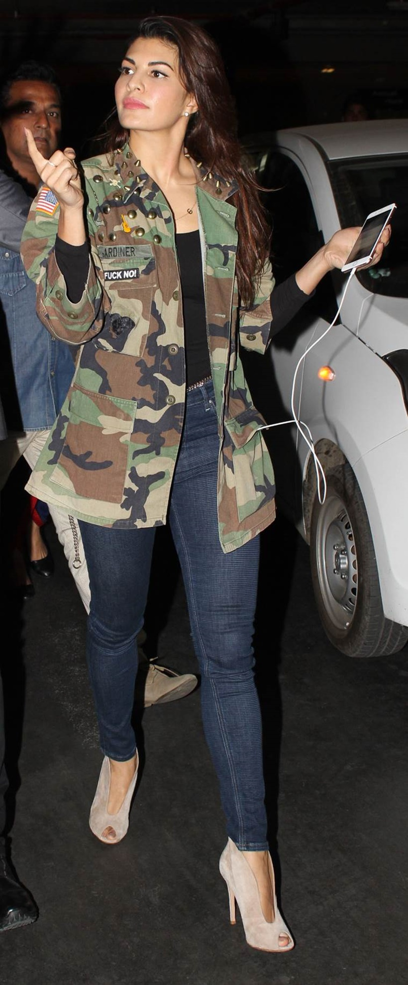 How to camouflage a wear print jacket new photo