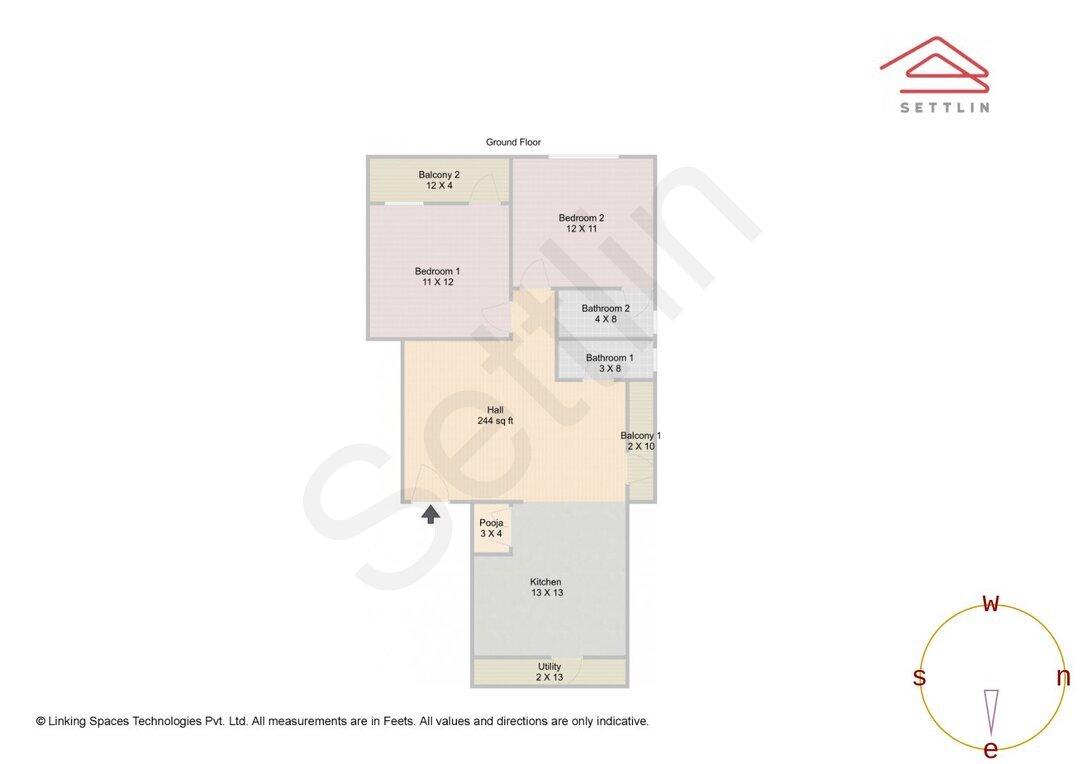 G. Floor Unit 1 Floorplan