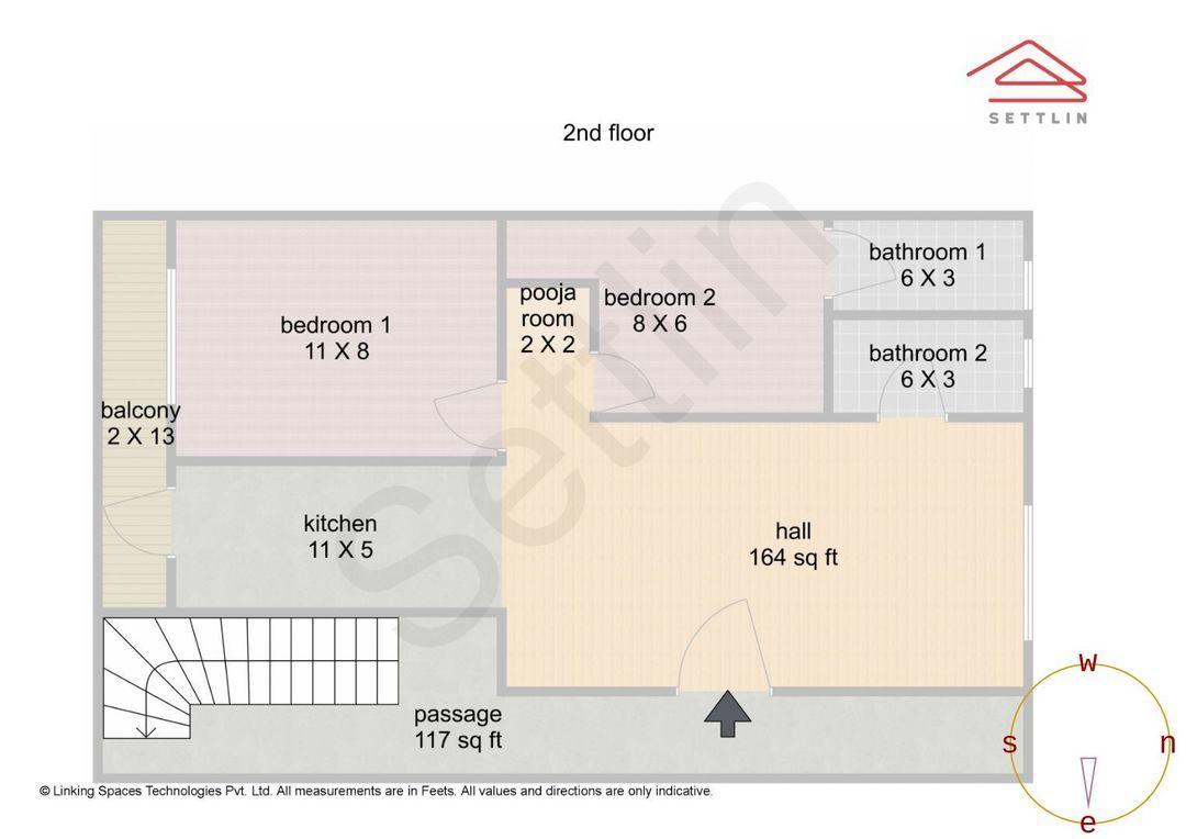 Floor 1 Unit 3 Floorplan