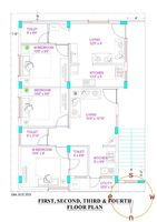 Floor 2 Unit 1 Floorplan
