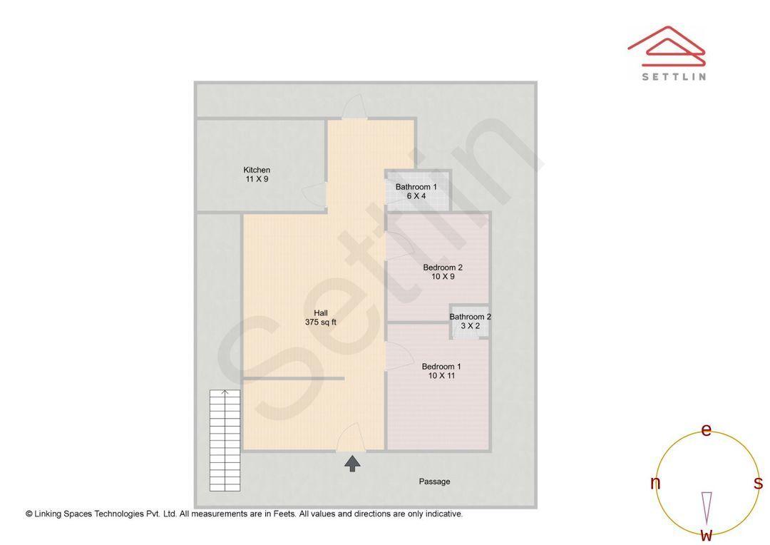 L. Basemt Unit 1 Floorplan