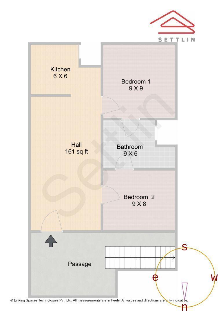 Ground Floor Unit 1 Floorplan