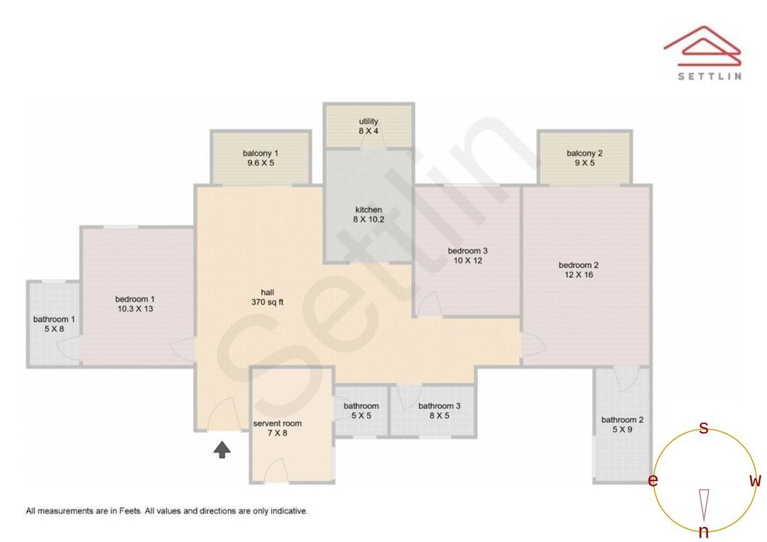 3bhk Apartment For Sale In Dlf Westend Heights In Begur Settlin