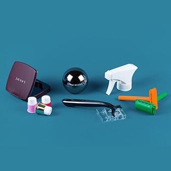 Personal care plastics