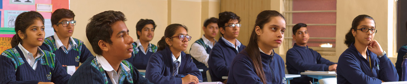 The school is the one of the best private school in dwarka, the image shows the different type of social media platforms for contact
