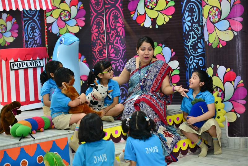Enrichment Spaces-Inspire - Story Telling Areas - JMIS Greater Noida West