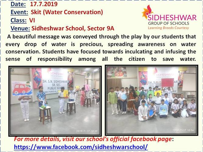 Skit(water conservation)