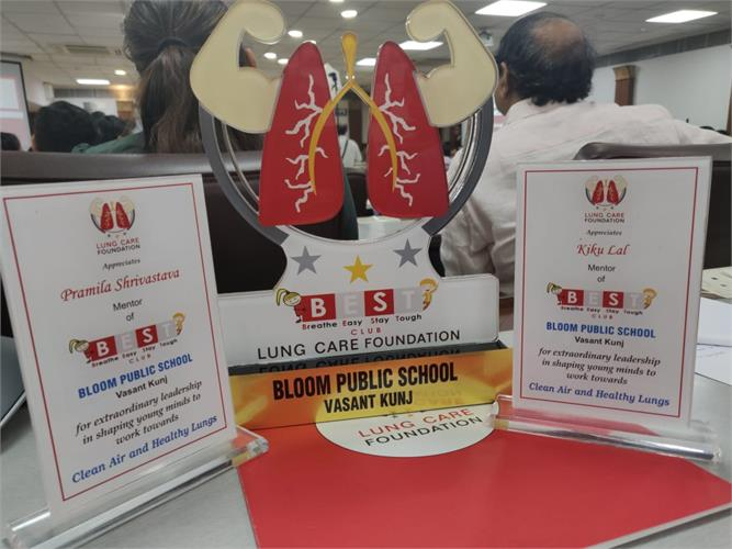 BEST Club  award for conceptual clarity and presentation
