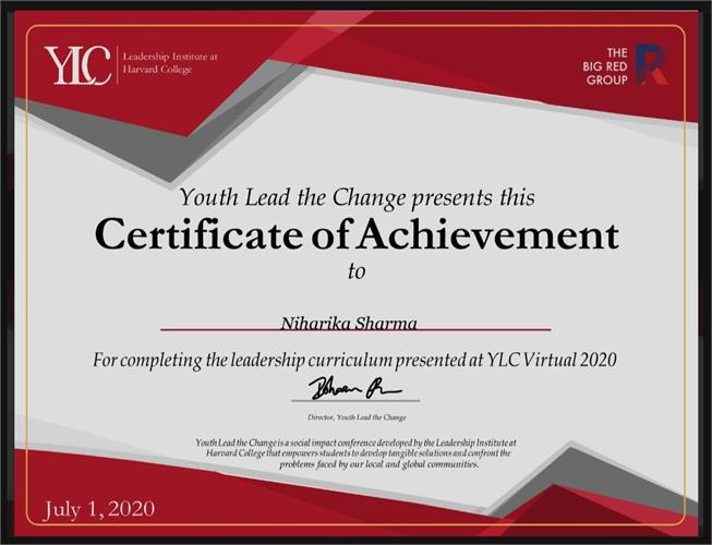 Youth Lead the Change