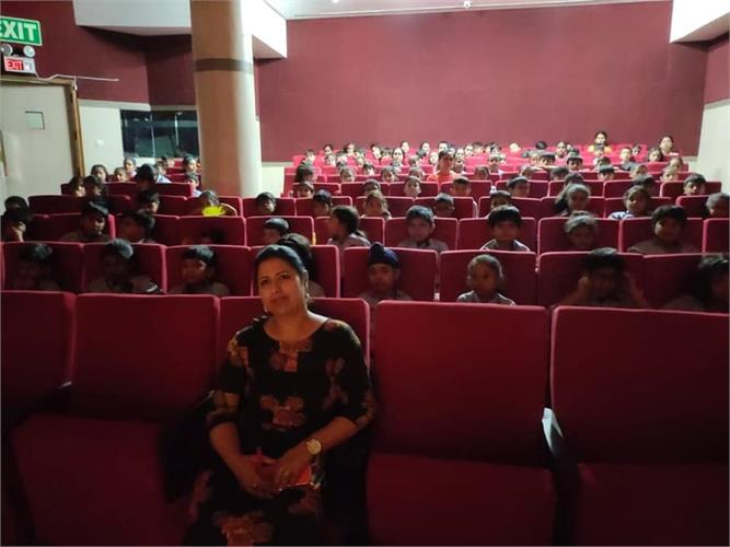 Storytelling Session by Ms nupur Aggarwal