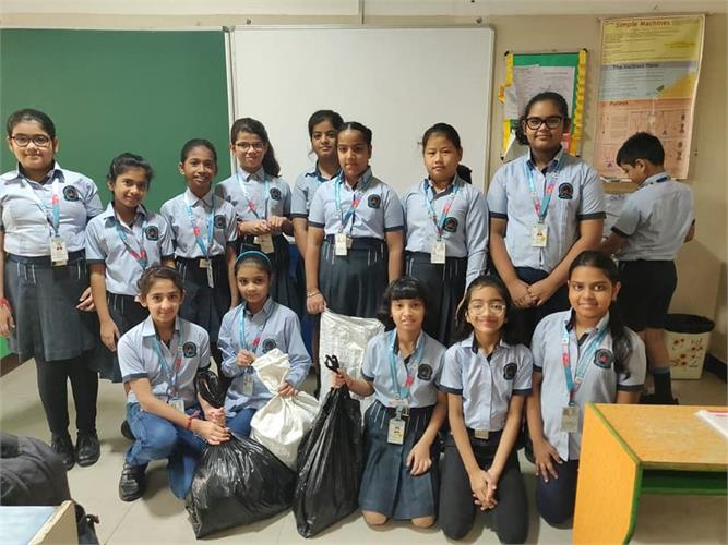 Class VI: Cleanliness Campaign