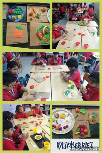 Class I : Mould and Create Activity