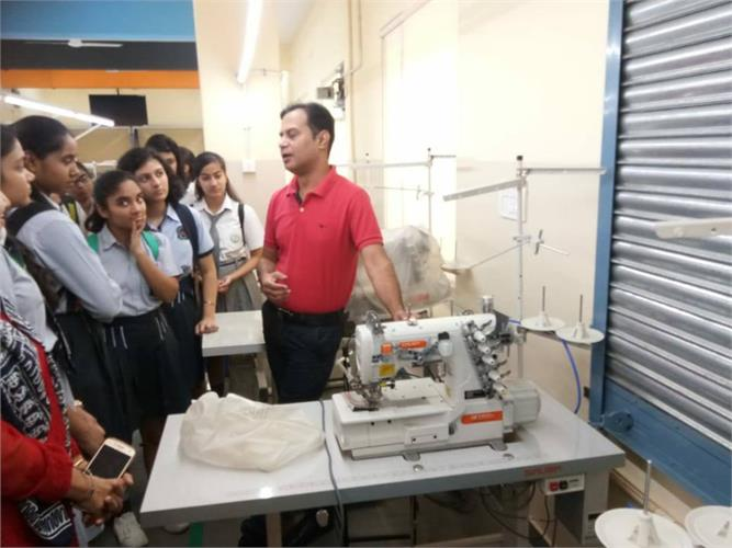 An educational trip to National Skill Development Corporation