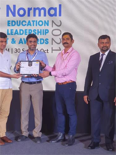 Ardor Comm Media awarded SVIS  for exemplary contribution to education